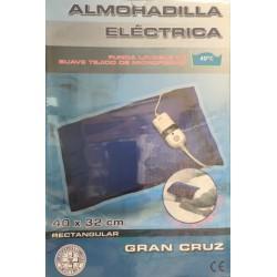 Almohadilla Electrica Rectangular Gran Cruz 40X32