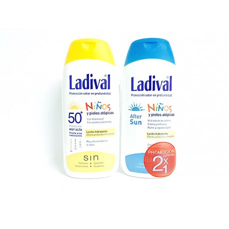 Ladival Niños Spf 50+ 200ml + After Sun Niños 200 ml