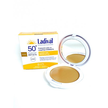 Ladival Pieles Sensibles Maquillaje Compacto Arena FPS50+ 10 gr