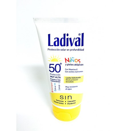 Ladival Niños Leche Hidratante Facial SPF50+ 75 ml