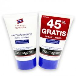 Neutrogena Crema de Manos Concentrada 45% Gratis Segunda Unidad
