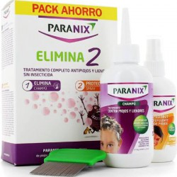 Paranix Pack Elimina 2 Champu + Protect Spray