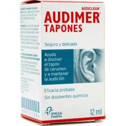 Audimer Audiclean solución limpieza 12ml
