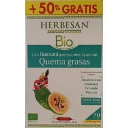 Herbesan Bio Quema grasas 20 Ampollas + 10 Gratis