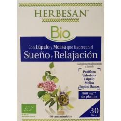 Herbesan Bio Sueño y Relajación 60 comprimidos
