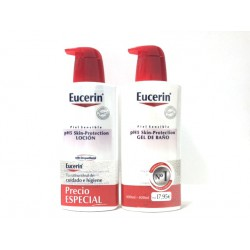 Eucerin ph5 Loción 400 ml + Eucerin ph5 Gel De Baño 400 ml