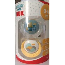 Nuk Fantasy Park Chupete T1 Latex (2 Unidades)