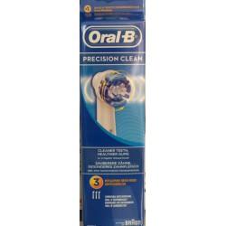 Cabezales de recambio Oral B Precision Clean 3uds.