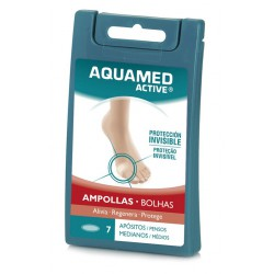 Aquamed Active apósitos Ampollas medianas 7 uds