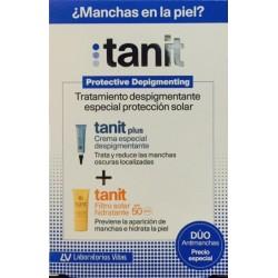 Tanit plus Crema Despigmentante 15 ml + Tanit Filtro Solar Hidratante 50 ml Spf 50
