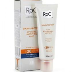 Roc Fluido Matificante Anti-brillos SPF 30 SOLEIL PROTECT 50 ml