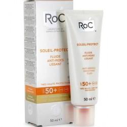 Roc Fluido Anti-Arrugas Alisador SPF 50+ SOLEIL PROTECT 50 ml