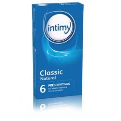 CLASSIC NATURAL 6 Preservativos Lubricados Intimy