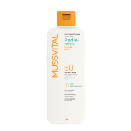 Mussvital Pediatrics Locion SPF50+ 300 ml