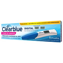 Clearblue digital prueba embarazo 1 uds