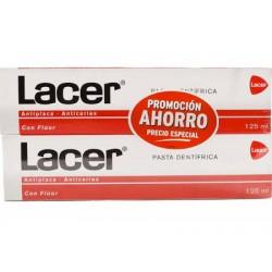 Lacer Pasta Dentifrica Duplo 2x125ml