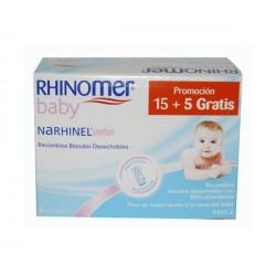 Narhinel confort 15 Recambios Blandos Desechables + 5 GRATIS