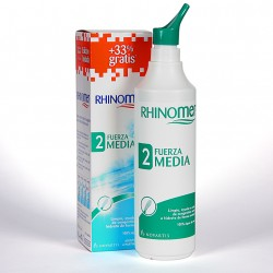 Rhinomer Fuerza 2 media + 33 % gratis 135 ml + 45 ml