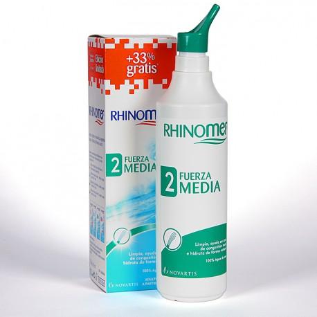Rhinomer Fuerza 2 media + 33 % gratis 135 ml + 45 ml