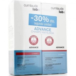 Cumlaude Advance Champu anticaida 200 ml x 2 Duplo