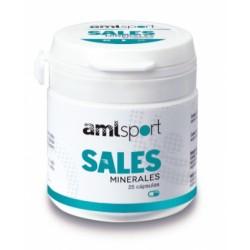 Amlsport Sales Minerales 25 Cápsulas