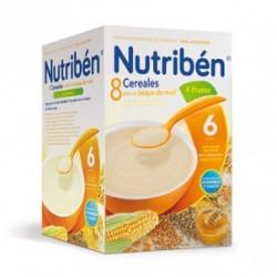 Nutribén 8 Cereales con un toque de miel 4 Frutas 600 gr