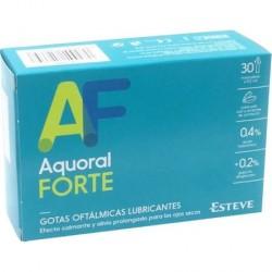 Aquoral forte gotas oftalmicas monodosis 30 x 0,5 ml