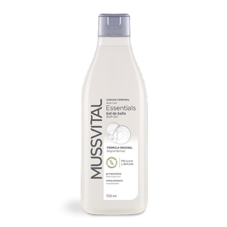 Mussvital Gel de baño Essentials Gel de Baño Original 750 ml
