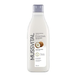 Mussvital Gel de baño Essentials  Coco 750 ml