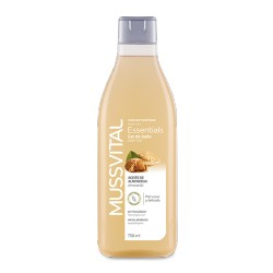 Mussvital Gel de baño Essentials Almendras 750 ml