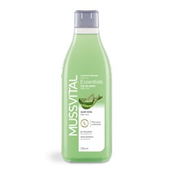 Mussvital Gel de baño con Essentials Aloe Vera 750 ml