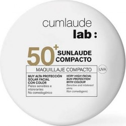 Cumlaude Sunlaude Compacto SPF50+ Maquillaje 02 Medio 10 Gramos