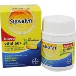 Supradyn vital 50+ polifenoles de la oliva 30 comprimidos