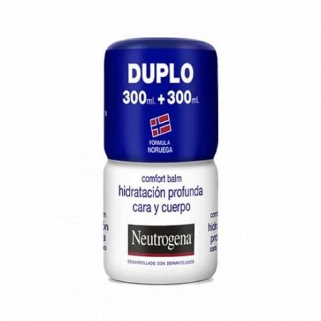 Neutrogena Bálsamo Corporal Hidratación Profunda Cara y Cuerpo 300+300 ML