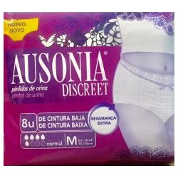 Ausonia Discreet Normal T-M 8 Uds