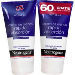 Neutrogena Crema Manos Rápida Absorción 2x75ml