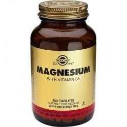 Solgar Magnesio con Vitamina B6 250 comprimidos