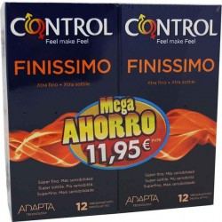 Preservativo Control Pack Finissimo 12+12