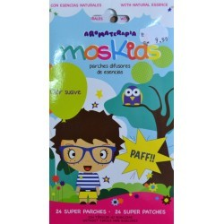 Moskids parches citronela 24uds