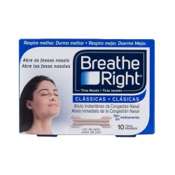 Breathe Right tiras nasales grandes 10uds