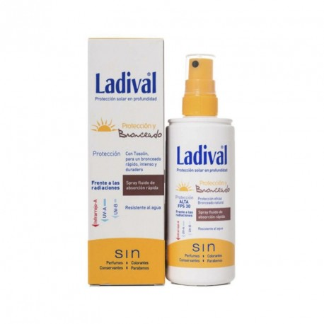 Ladival Proteccion Y Bronceado Fps 50+ Spray 150 ml