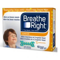 Breathe Right Respira Mejor tiras nasales niños 10uds