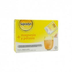 Supradyn magnesio+potasio 14 sobres