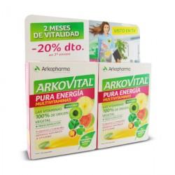 Arkopharma Arkovital Multivitaminico Pura Energia 60 comp. -20% dto. en 2º envase