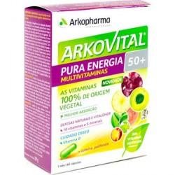 Arkopharma Arkovital Pura Energia +50 60 Comprimidos