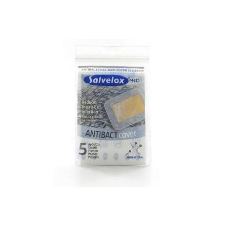 SalveloxSalvelox Maxi Cover Antibacteriano 5 apositos