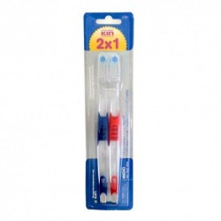 Kin Cepillo Dental Medio 2x1