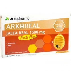 Arkopharma Jalea Real 1500 mg Forte Plus 20 Ampollas