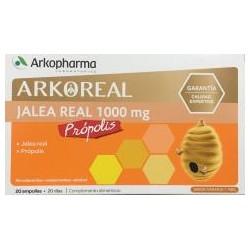 Arkopharma Jalea Real 1000 mg y Própolis 20 Ampollas