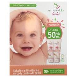 Armonía Bio Bebé crema pañal 2X50ml